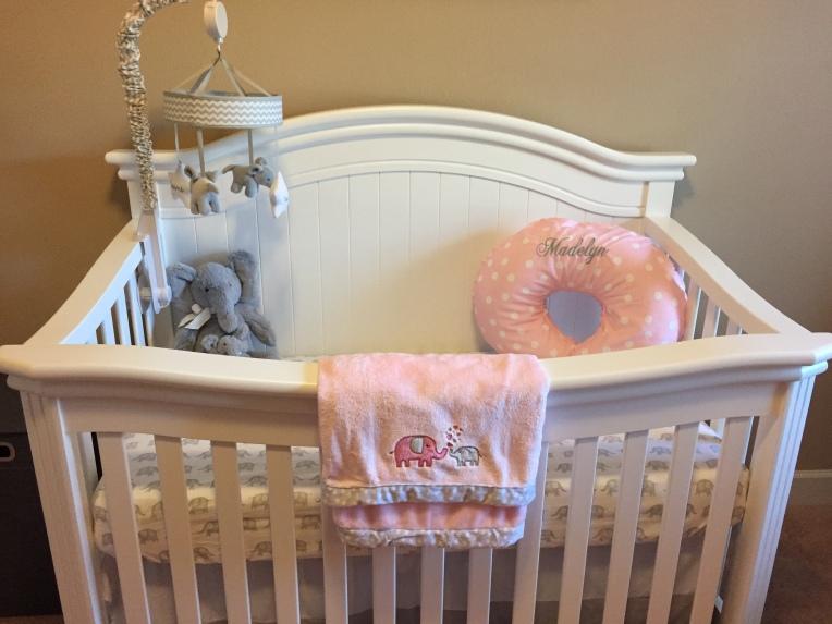 Love her crib.